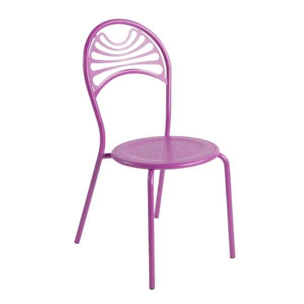 Chaise de jardin contemporaine en métal - Cabaret 16 - 16