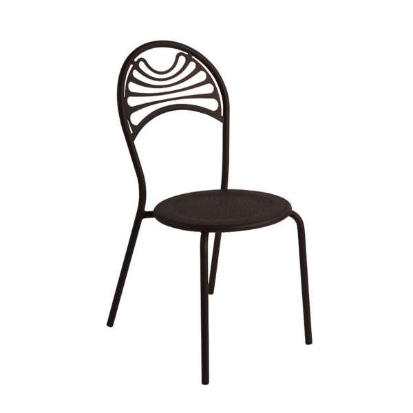 Chaise de jardin contemporaine en métal - Cabaret 20  - 20