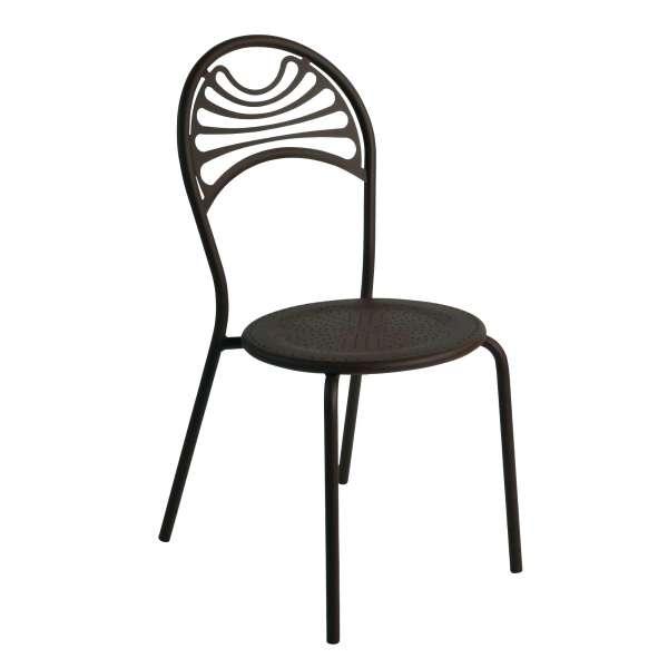 Chaise de jardin contemporaine en métal - Cabaret 24 - 24