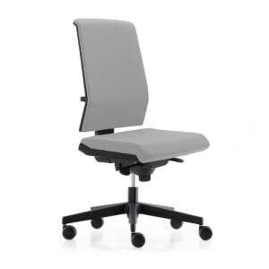 Chaise de bureau avec dossier tapissé - Tela TA55