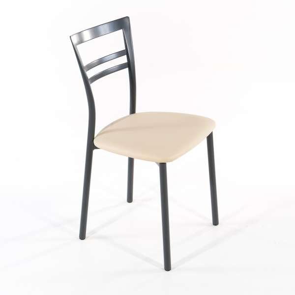 Chaise de cuisine en synthétique et métal - Go 1419 5 - 22
