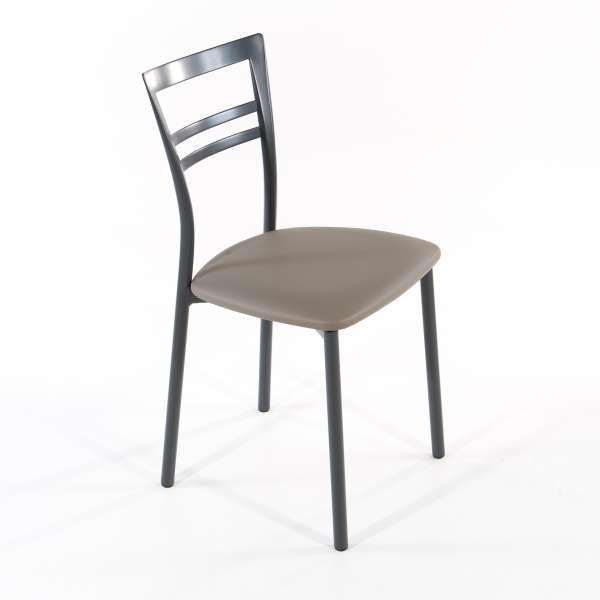 Chaise de cuisine en synthétique et métal - Go 1419 6 - 23