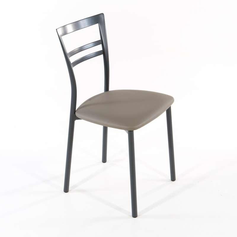 Chambre Bebe Bleu Fonce : Chaise de cuisine en synthétique et métal  Go  4 Pieds  tables