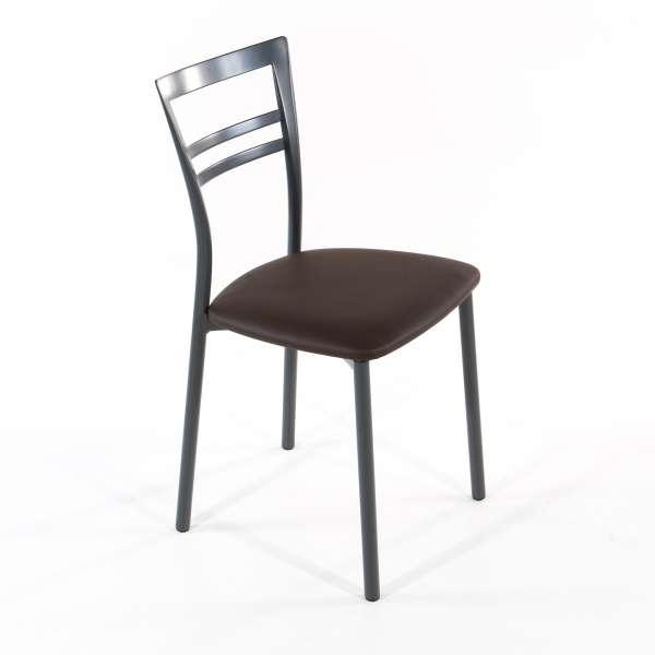 Chaise de cuisine en synthétique et métal - Go 1419 7 - 24