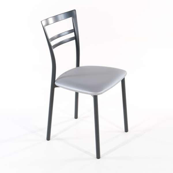 Chaise de cuisine en synthétique et métal - Go 1419 8 - 25