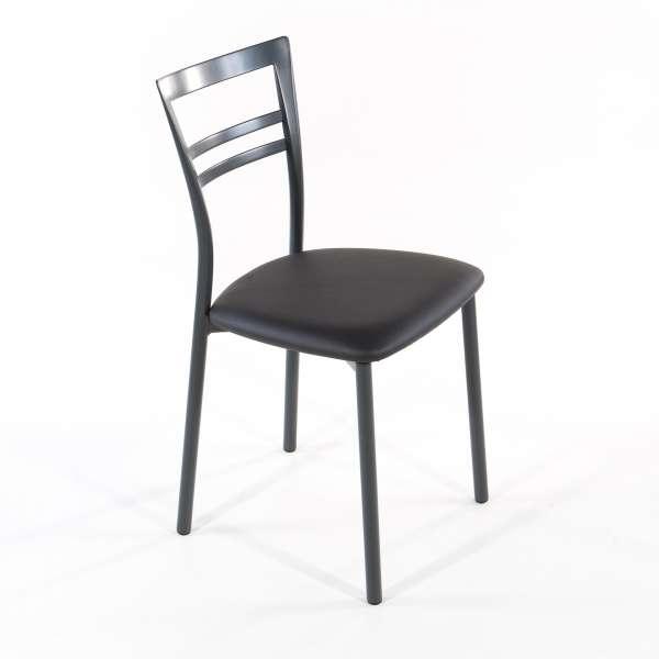 Chaise de cuisine en synthétique et métal - Go 1419 10 - 27