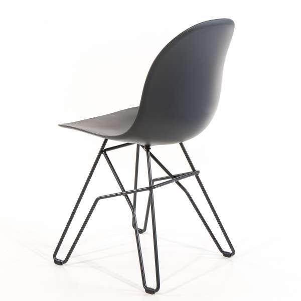 Chaise design en polypropylène et métal - 1664 Academy Connubia 6 - 6