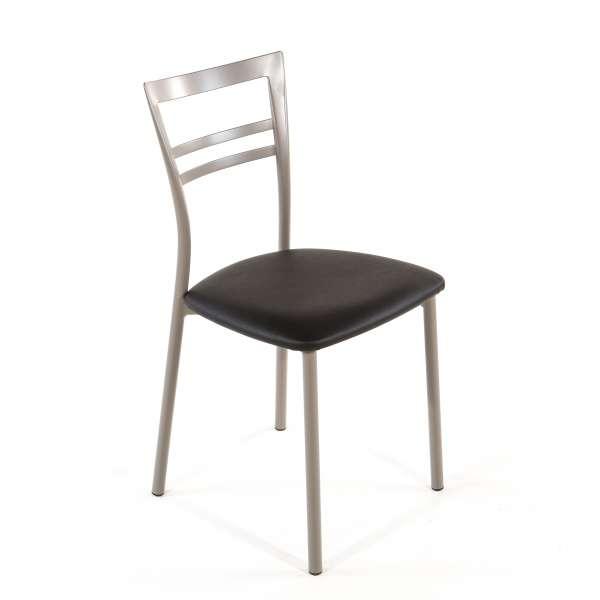 Chaise de cuisine en synthétique et métal - Go 1419 23 - 40