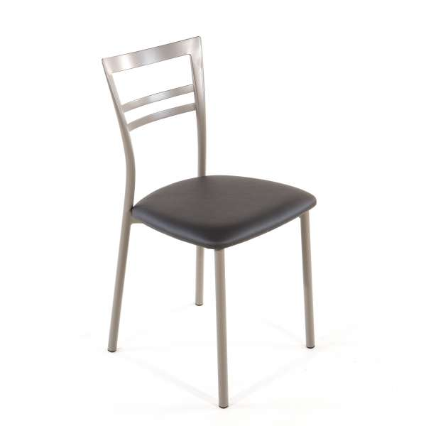 Chaise de cuisine en synthétique et métal - Go 1419 25 - 42