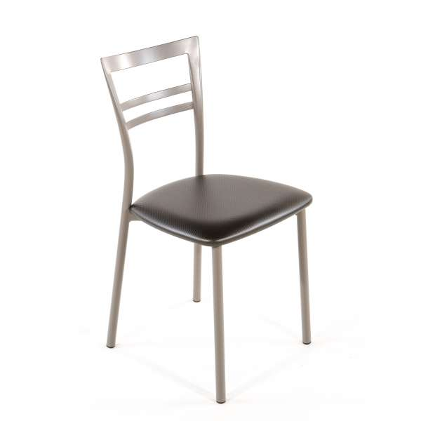 Chaise de cuisine en synthétique et métal - Go 1419 26 - 43