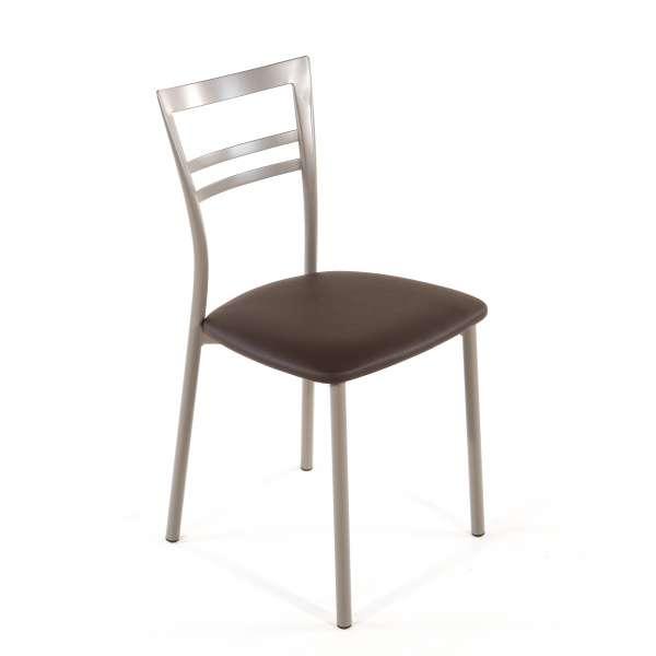 Chaise de cuisine en synthétique et métal - Go 1419 28 - 45