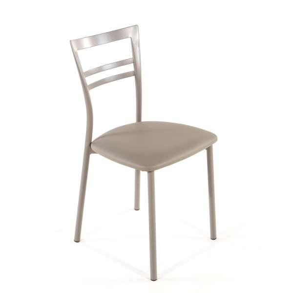Chaise de cuisine en synthétique et métal - Go 1419 29 - 46