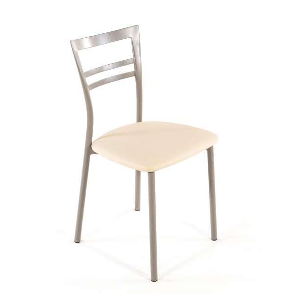 Chaise de cuisine en synthétique et métal - Go 1419 30 - 47