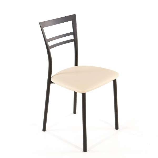 Chaise de cuisine en synthétique et métal - Go 1419 39 - 56