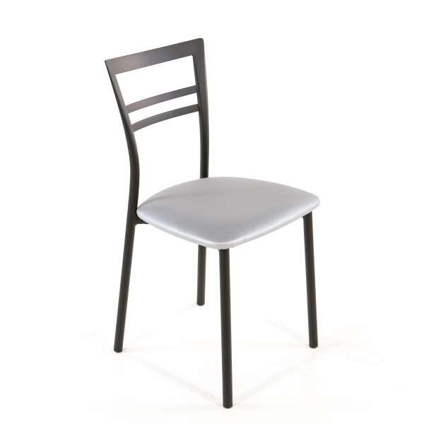 Chaise de cuisine en synthétique et métal - Go 1419 42 - 59