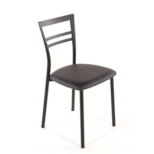 Chaise de cuisine en synthétique et métal - Go 1419 44 - 61