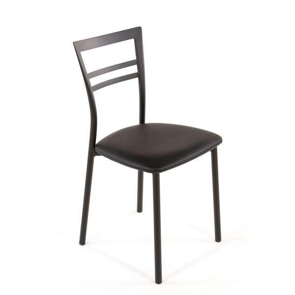 Chaise de cuisine en synthétique et métal - Go 1419 45 - 62