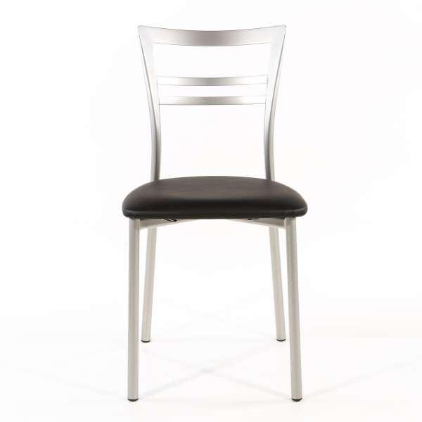 Chaise de cuisine en synthétique et métal - Go 1419 46 - 63