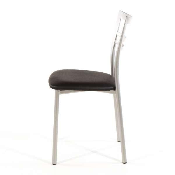 Chaise de cuisine en synthétique et métal - Go 1419 47 - 64