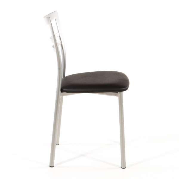 Chaise de cuisine en synthétique et métal - Go 1419 48 - 65