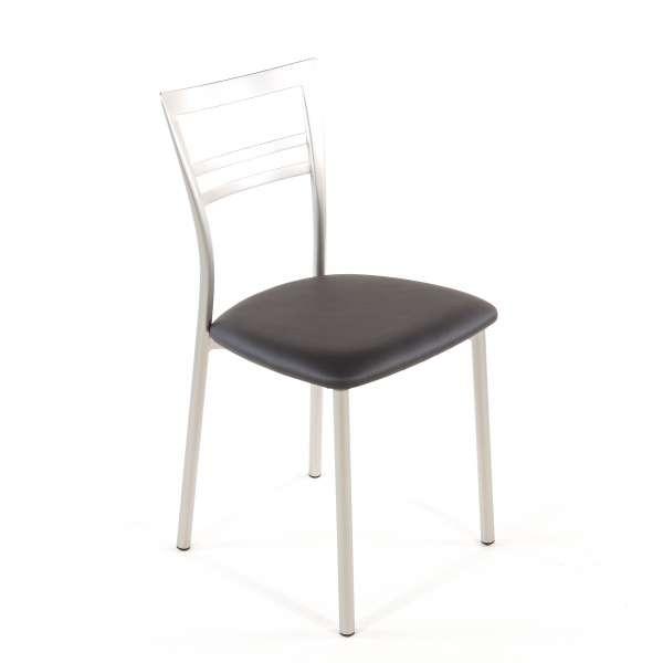 Chaise de cuisine en synthétique et métal - Go 1419 55 - 72