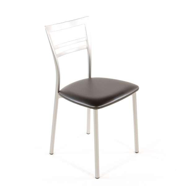 Chaise de cuisine en synthétique et métal - Go 1419 123 - 73