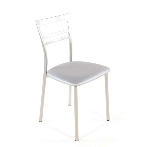 Chaise de cuisine en synthétique et métal - Go 1419 124 - 74