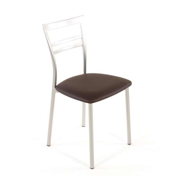 Chaise de cuisine en synthétique et métal - Go 1419 125 - 75