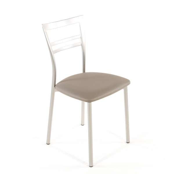 Chaise de cuisine en synthétique et métal - Go 1419 126 - 76
