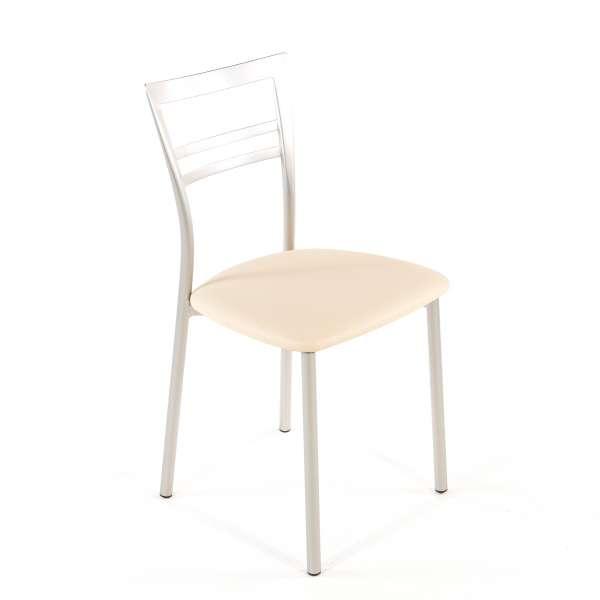 Chaise de cuisine en synthétique et métal - Go 1419 127 - 77
