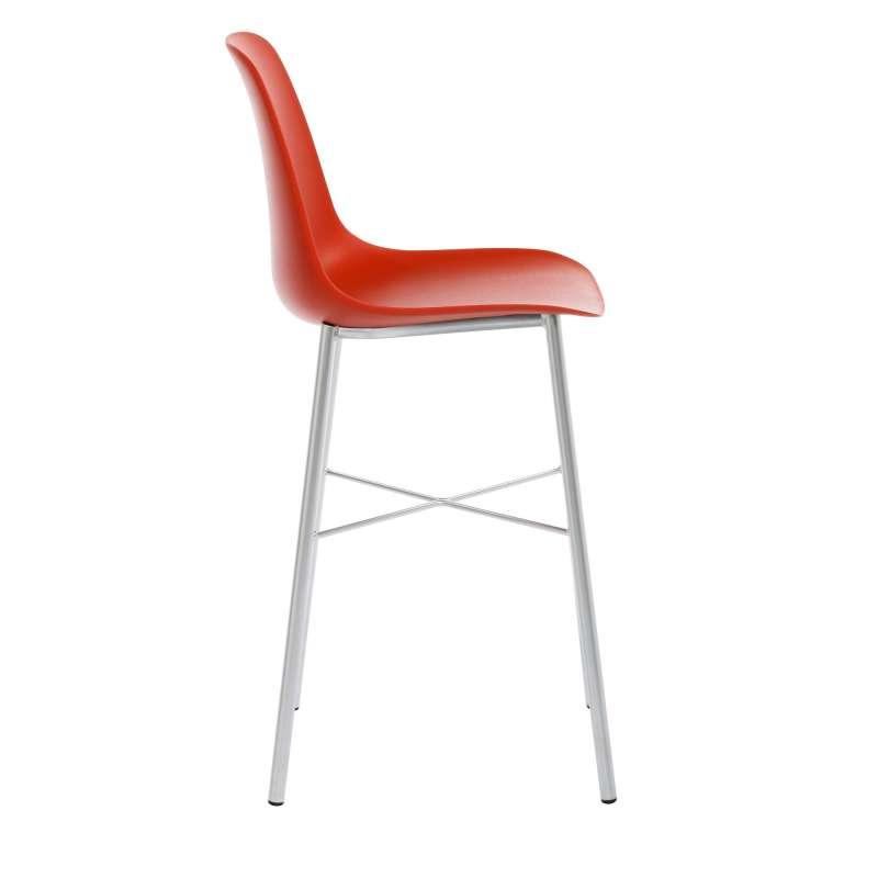 tabouret moderne en polypropyl ne hauteur snack cloe 4. Black Bedroom Furniture Sets. Home Design Ideas