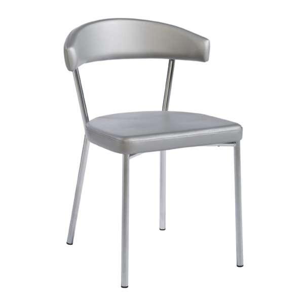 Chaise de cuisine en métal et synthétique - Elli 8 - 8