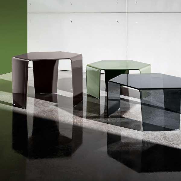 Table basse design en verre - 3 Feet Sovet® 3 - 3