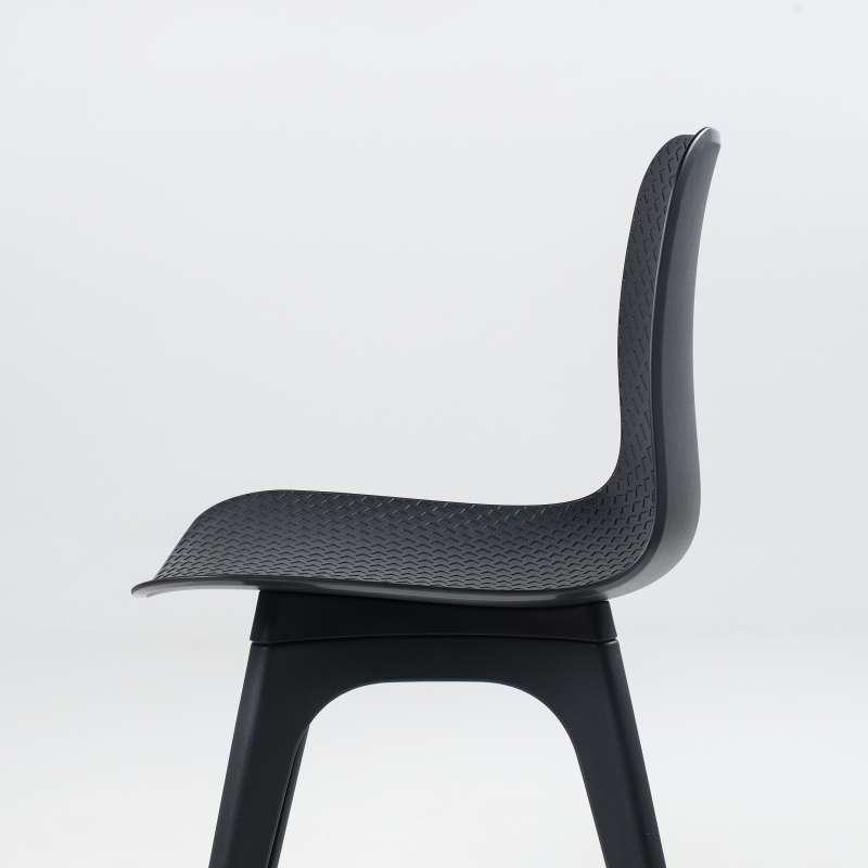Chaise design en polypropyl ne c leste 4 pieds tables chaises et tabourets - Chaise en polypropylene ...