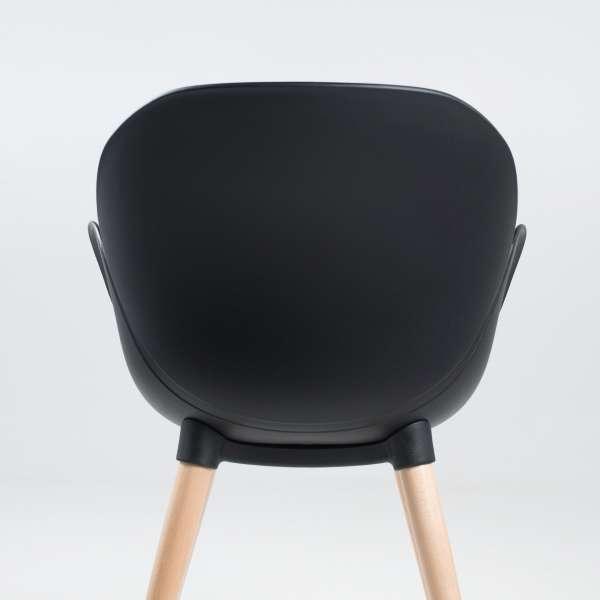 Fauteuil design en polypropylène et bois - Victoire - 3