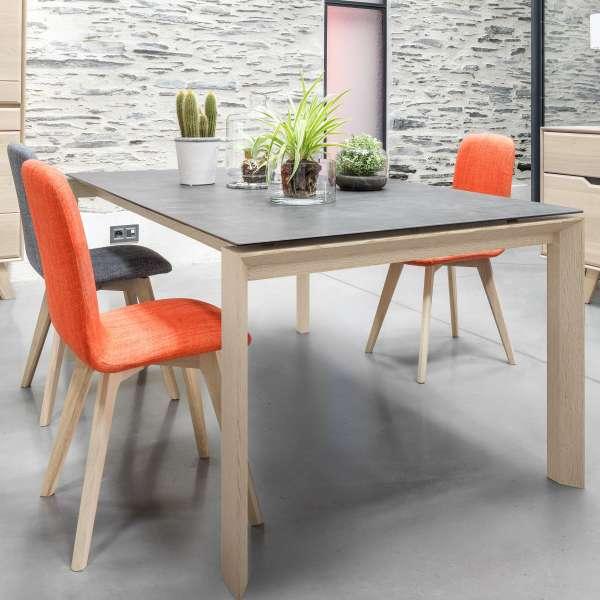 Table de salle à manger extensible en céramique rectangulaire - Cera concept V