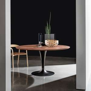 Table ronde design en bois - Flute Sovet®