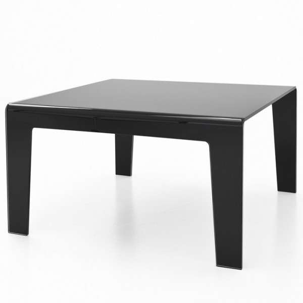 table design rectangulaire ou carr e en verre frog sovet 4 pieds tables chaises et tabourets. Black Bedroom Furniture Sets. Home Design Ideas