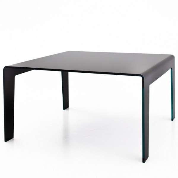 Table design rectangulaire ou carrée en verre - Frog Sovet® 5 - 5