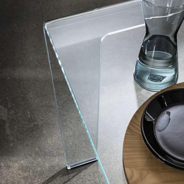 Table design rectangulaire ou carrée en verre - Frog Sovet® 3 - 3