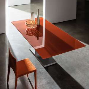 Table design extensible en verre - Palace Sovet®