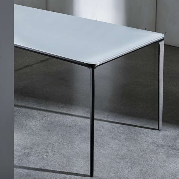 Table en verre design extensible - Slim Sovet® 4 - 5