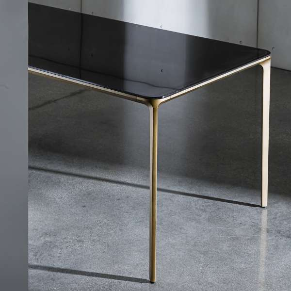 Table en verre design extensible - Slim Sovet® 5 - 6