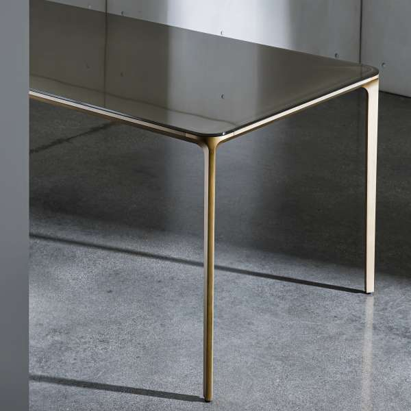Table en verre design extensible - Slim Sovet® 6 - 7