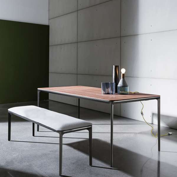 Table design extensible en bois - Slim Sovet® 3 - 3