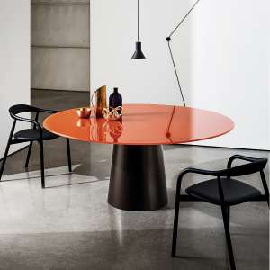 Table ronde design en verre - Totem Sovet®
