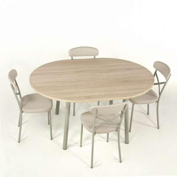 Table de cuisine extensible en stratifié - Elli