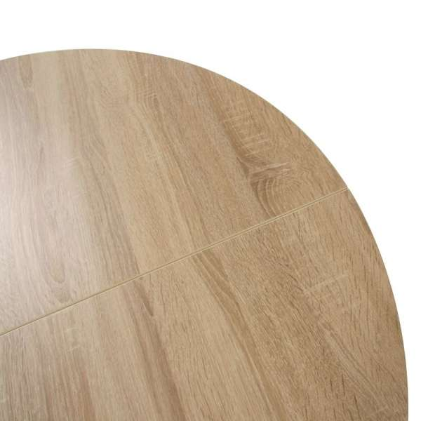 Table de cuisine ovale en stratifié - Elli 6 - 6