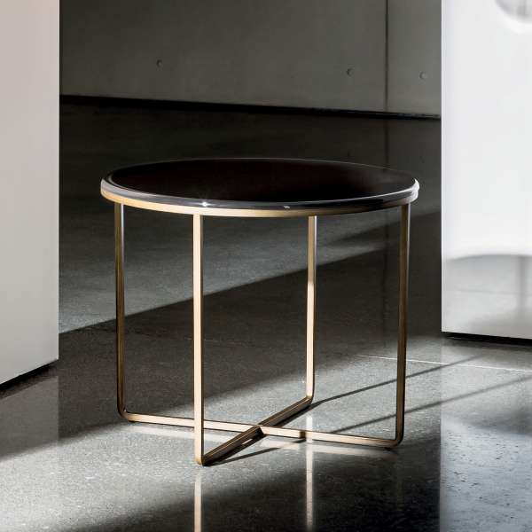 Table basse ronde en verre - Piktor Sovet