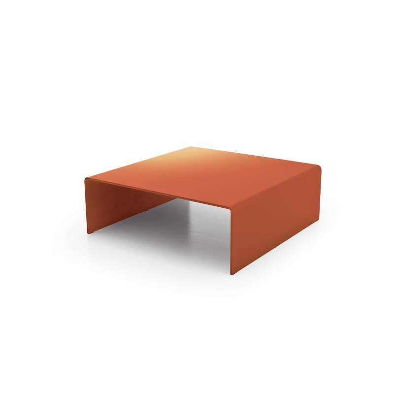 Table basse moderne carr e en verre bridge sovet 4 for Table basse verre carree